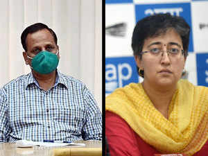 Delhi: AAP's Satyendar Jain and Atishi Marlena test positive for COVID-19