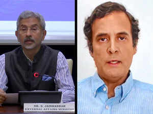 Jaishankar rebuts Rahul over claim of 'unarmed soldiers', says troops on border duty carry arms