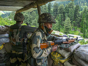 indian army solider pti