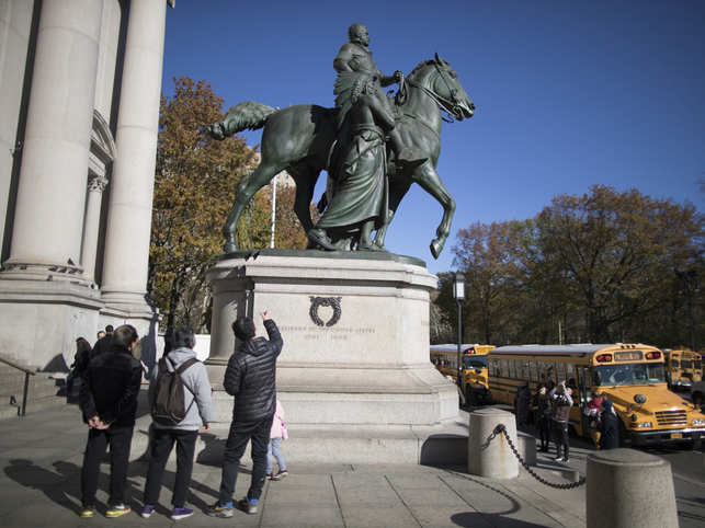 It hasn't been determined when the Roosevelt statue will be removed and where it will go.