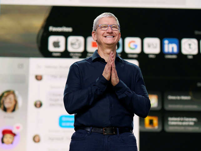 "Apple chief executive Tim Cook said the move represents ""a huge leap forward for the Mac""."