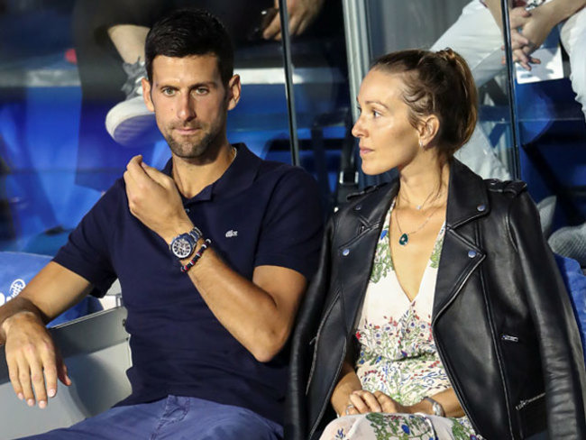 Novak Djokovic Coronavirus Top Ranked Tennis Player Novak Djokovic And Wife Jelena Test Positive For Covid 19 The Economic Times