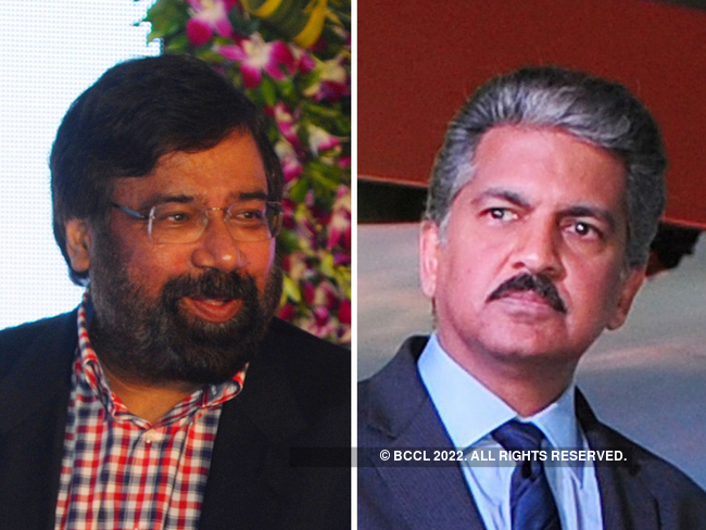 Anand Mahindra Harsh Goenka Tops Most Influential India Inc Bosses List On Twitter Anand Mahindra Follows The Economic Times