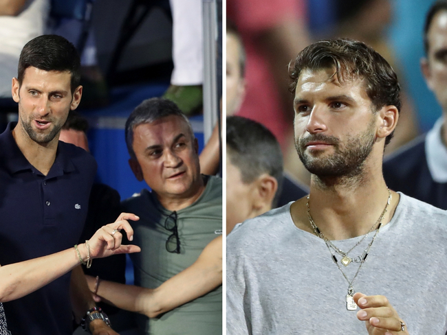 Novak Djokovic News Novak Djokovic S Father Defends Son Blames Grigor Dimitrov For Inflicting Damage To Croatia And Serbia The Economic Times