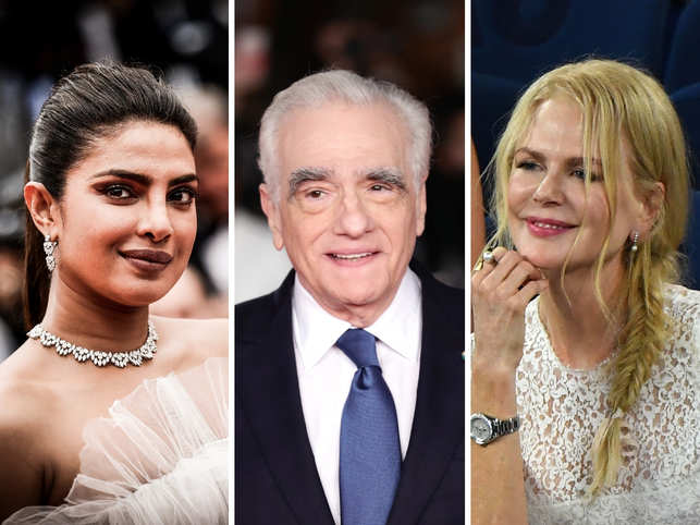​Priyanka Chopra (L), Martin Scorsese (C), ​Nicole Kidman (R) and Anurag Kashyap are among the ambassadors for a downsized TIFF 2020​.