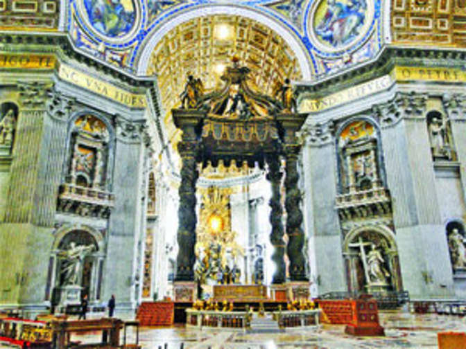Vatican City: Magnificence Of St Peter's Basilica