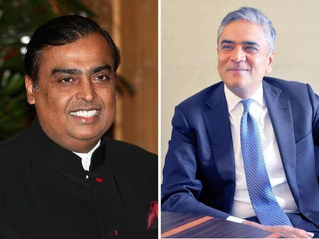 Mukesh Ambani (left) has struck a good rapport with Yasir Al-Rumayyan, the fund's new boss, who also doubles up as chief of Saudi Aramco.