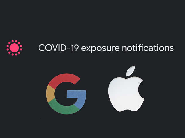 People woke up to a new Covid-19 feature being inserted in their smartphones, leaving them confused.