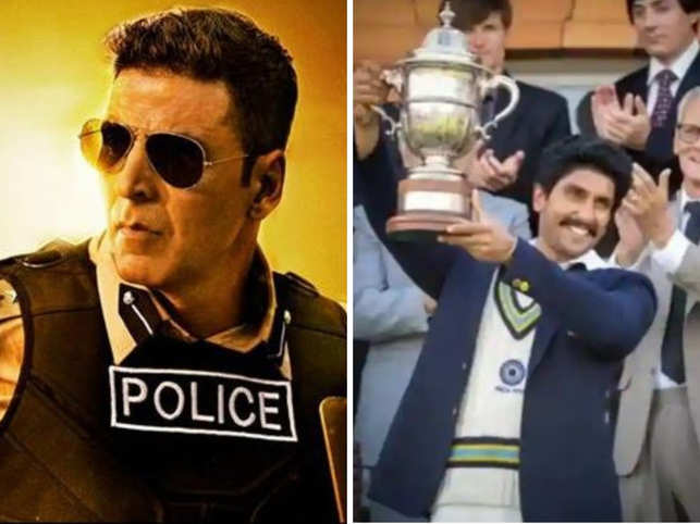"""The announcement of theatrical release of """"Sooryavanshi"""" and """"'83"""" has come as a relief."""