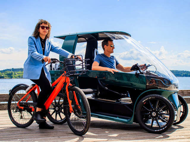 The Car Ebikes A New E Bike Reimagines What A City Car Can Be Like The Economic Times