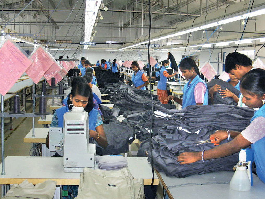 Garment manufacturers say key spares only available in China, awaits imports