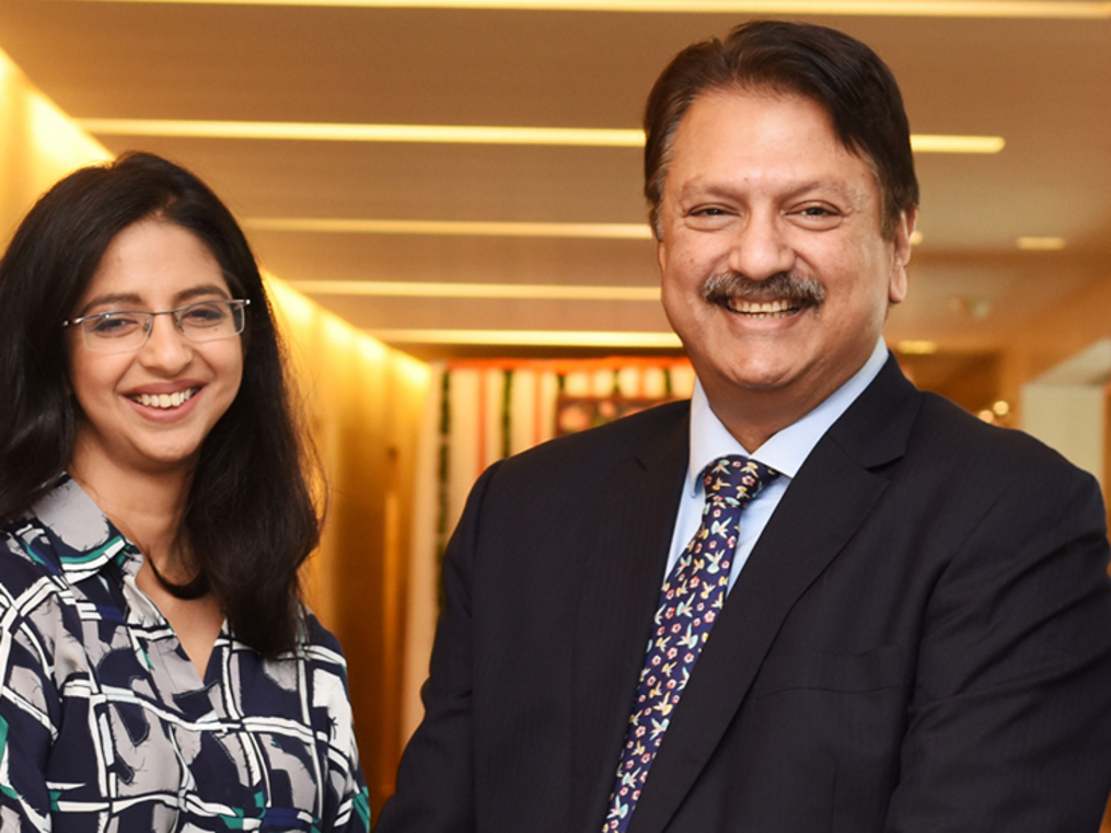 It wasn't a one-horse race. We chose Carlyle because of its experience in healthcare: Ajay Piramal
