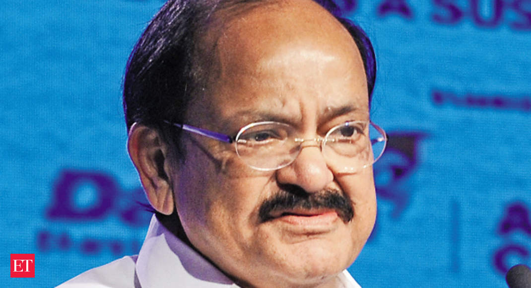 M Venkaiah Naidu wants Rajya Sabha MPs to be physically present