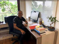 Having an office set-up on a different floor helps this CEO strike work-life balance