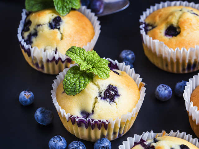 Blueberry muffin recipes to treat yourself with something sweet this weekend