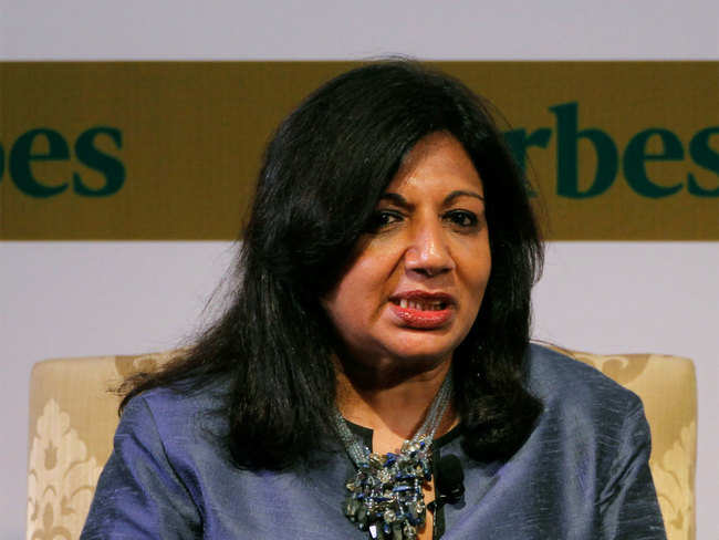 Biocon's biosimilar for treating Covid-19: Patients responded positively, says Kiran Mazumdar-Shaw