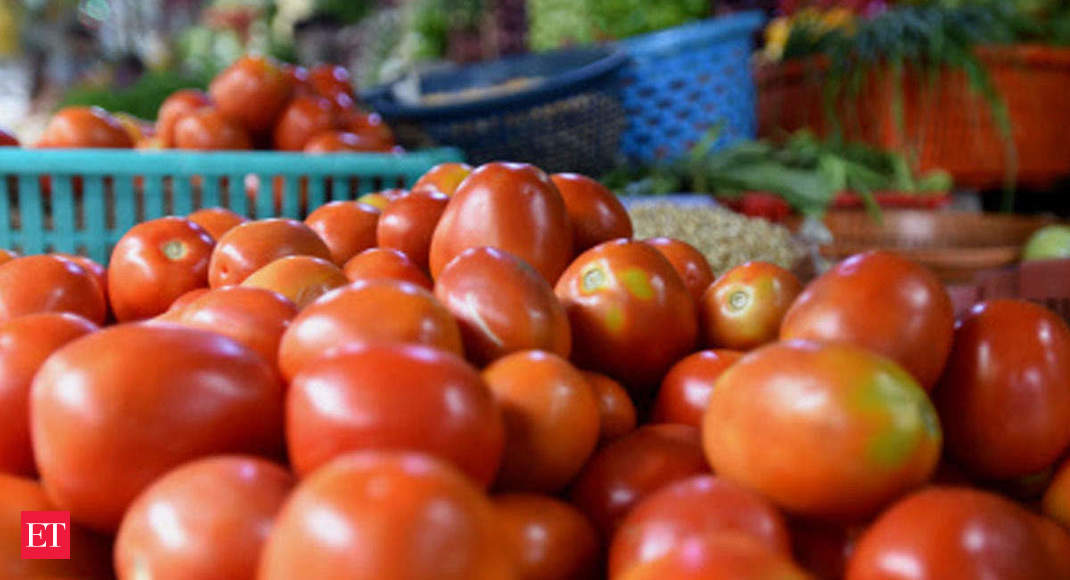 Tomato prices which had crashed to Rs 1-2 per kg in May are now selling at Rs 40-50 a kg