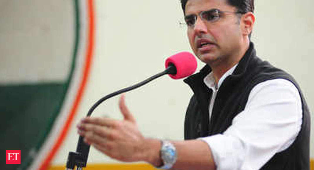 Rajasthan govt crisis: Sachin Pilot welcome in party fold, says Bharatiya Janata Party - The Economic Times