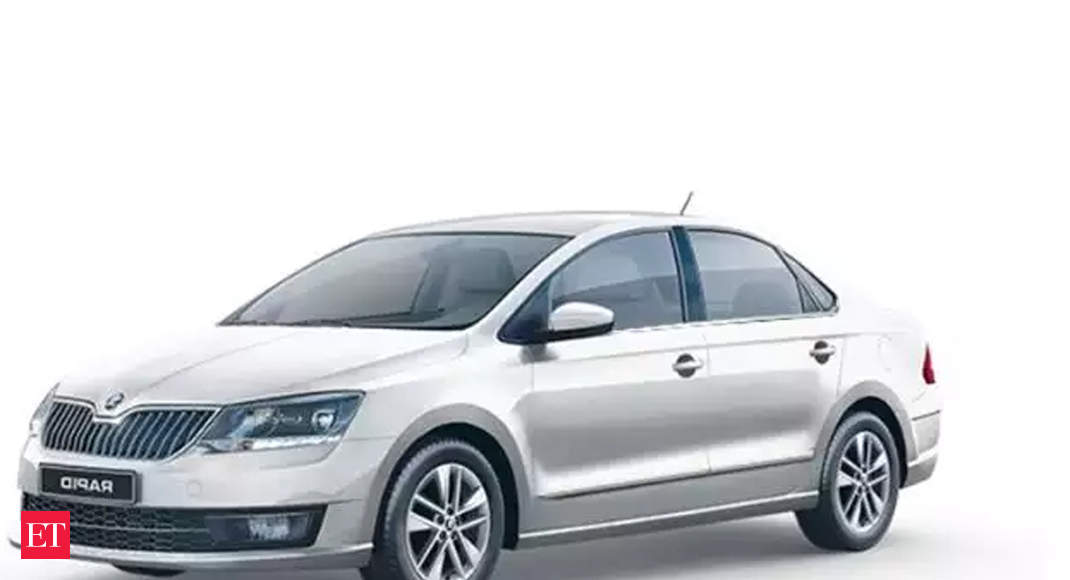 Skoda launches Rapid Rider Plus at Rs 7.99 lakh with a 23% jump in fuel efficiency - The Economic Times