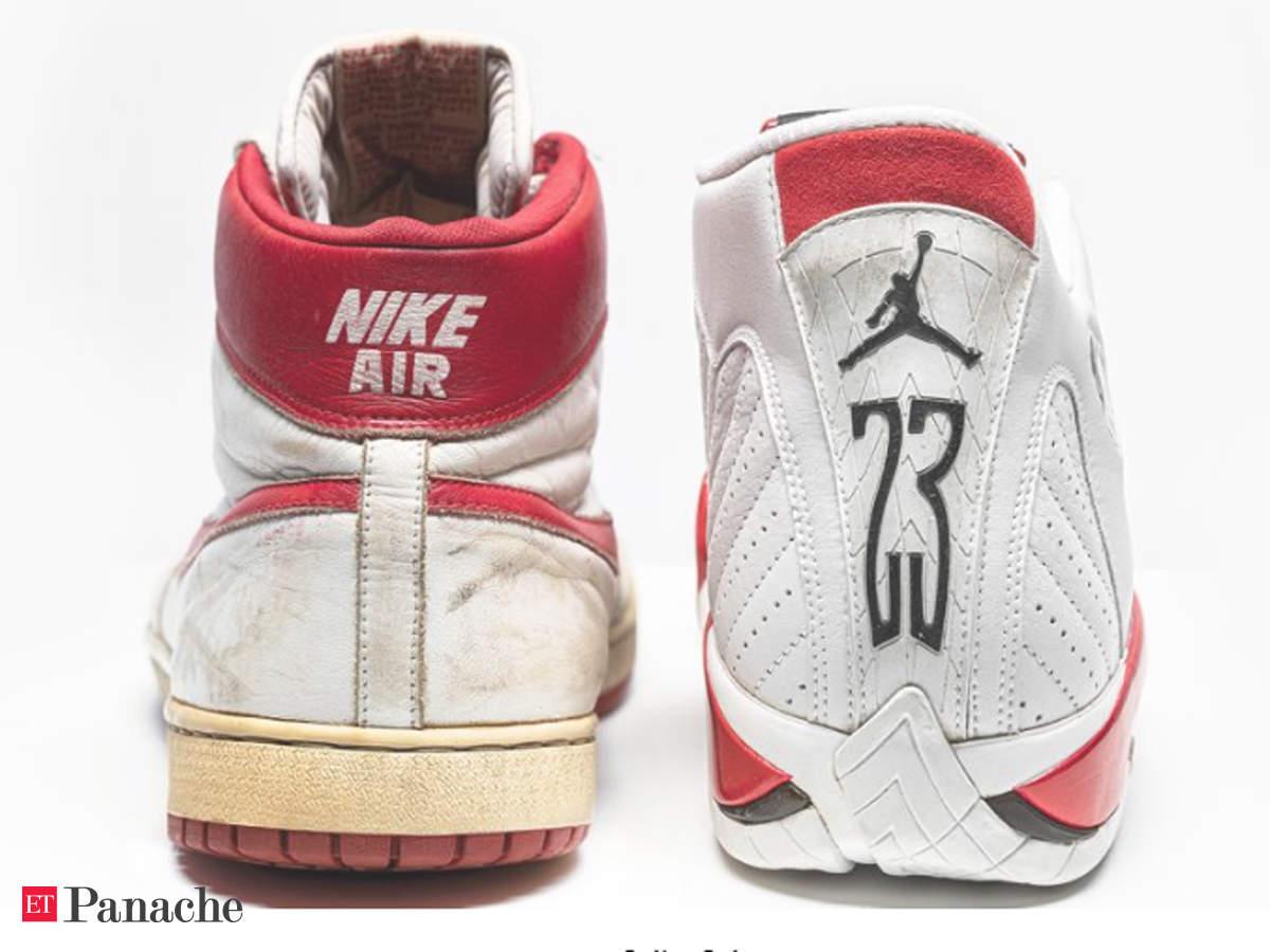 Historic Michael Jordan sneakers