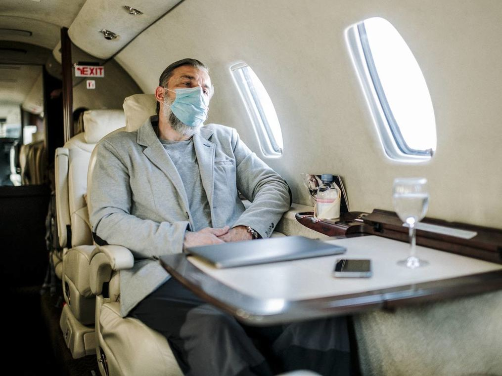 Why the business of private jets has taken off in the pandemic