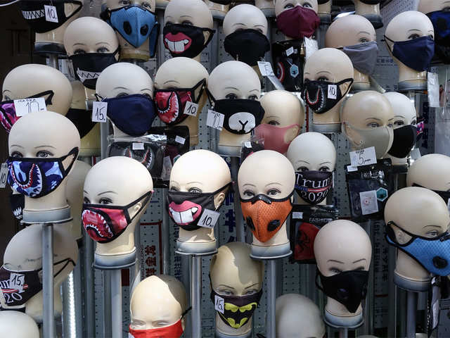 No Country For Face Masks Nordics Brush Off Mouth Covers Donning A Mask Is Rare The Economic Times