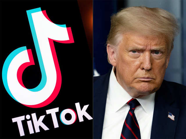 What would a US ban on TikTok mean? - Donald Trump and TikTok   The Economic Times