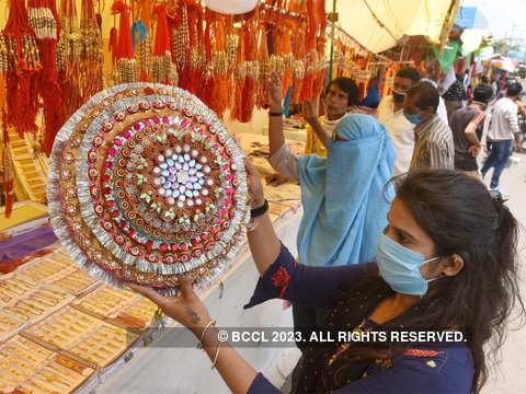 Raksha Bandhan Is Joyfully Celebrated Across The Country Rakhi With Frontline Workers The Economic Times