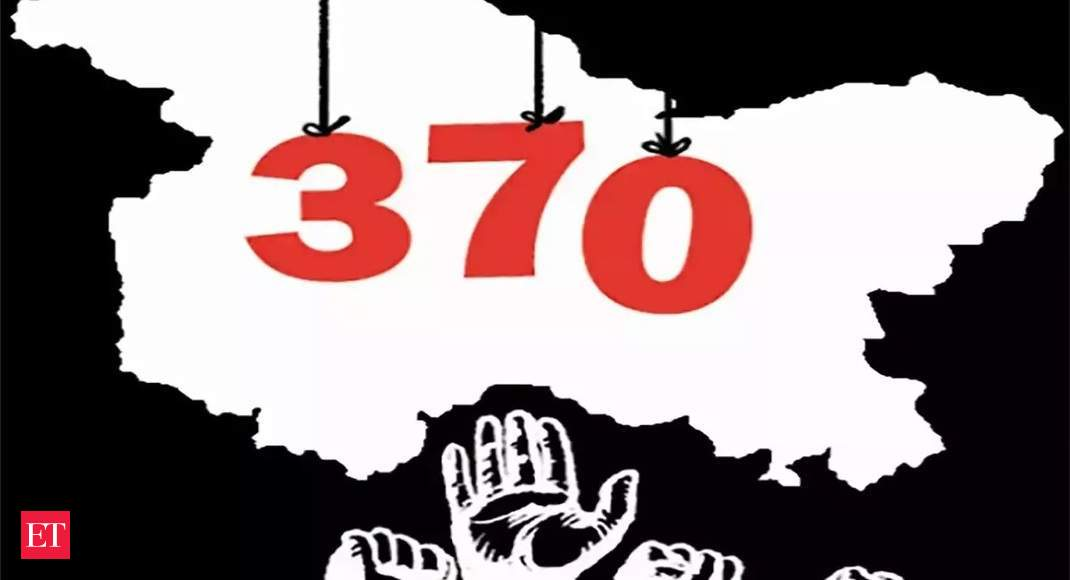 View: Early for govt to pat its back for absence of upsurge in the wake of of revocation Article 370