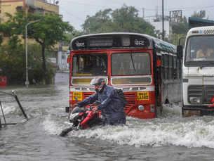Mumbai rains cause mayhem, red alert on