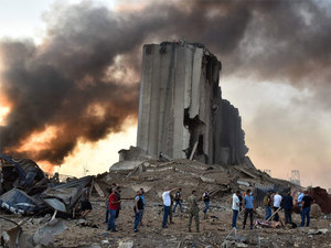 beirut explosion latest news: Beirut Explosion: Two huge ...