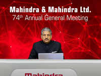 Like daddy, like son! For AGM, Mahindra ditches suit & tie for Jodhpuri suit, says his father, too, was a fan of 'bandh-gala'