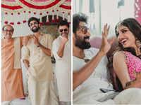 Rana Daggubati all 'ready' for wedding day; Miheeka Bajaj's mehendi look goes viral