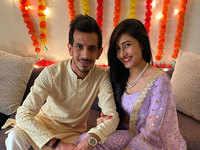 Cricketer Yuzvendra Chahal, YouTuber Dhanashree Verma make relationship  official at intimate roka ceremony