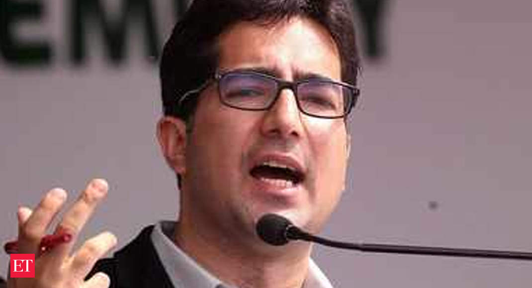 Shah Faesal, who left IAS, ventures down as president of Jammu and Kashmir People's Movement