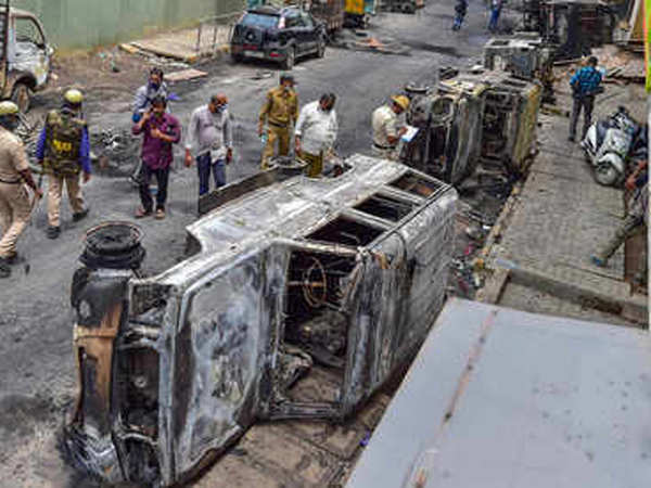 Bengaluru Violence Live News: Riot was planned; over 300 vehicles burnt, says Karnataka Minister