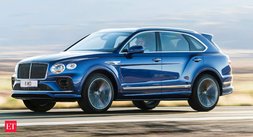 World S Fastest Suv Bentley Bentayga Speed Gets A Makeover A New Look The Economic Times