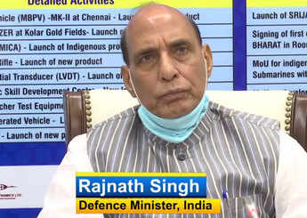 Watch: Rajnath Singh launches portal for 'Opportunities for Make In India in Defence'