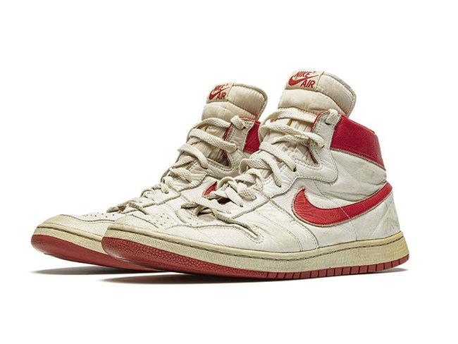 Michael Jordan's sneakers fetch $615,000 at auction - The Economic ...