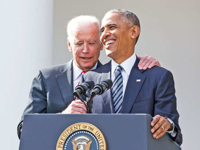 Barack Obama & Joe Biden - V-P in US election: Here's a look at some popular combinations that left a mark   The Economic Times