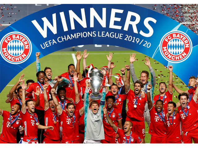 Bayern Munich Bayern Munich Win Their Sixth UEFA Champions League Super Six The Economic Times