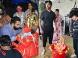 Salman, Hrithik Roshan have an eco-friendly Visarjan; SRK's Ganpati send-off hits a wrong note