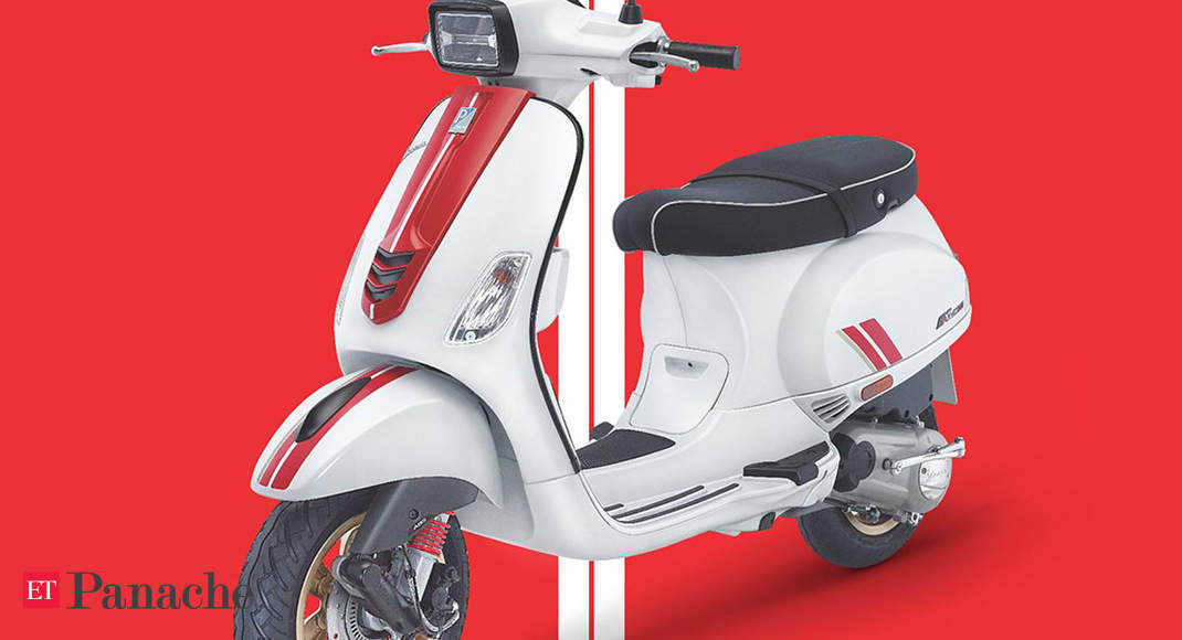 Vespa Racing Sixties Scooter Price Special Edition Vespa Racing Sixties Scooters Come To India Starting At Rs 1 20 Lakh The Economic Times