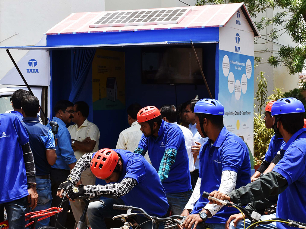 Focused on clean energy, Tata Power keeps its face to the sunshine. Low tariff can cloud its view.