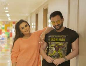 It's a wrap! Rani Mukerji, Saif Ali Khan wrap shooting for 'Bunty Aur Babli 2'