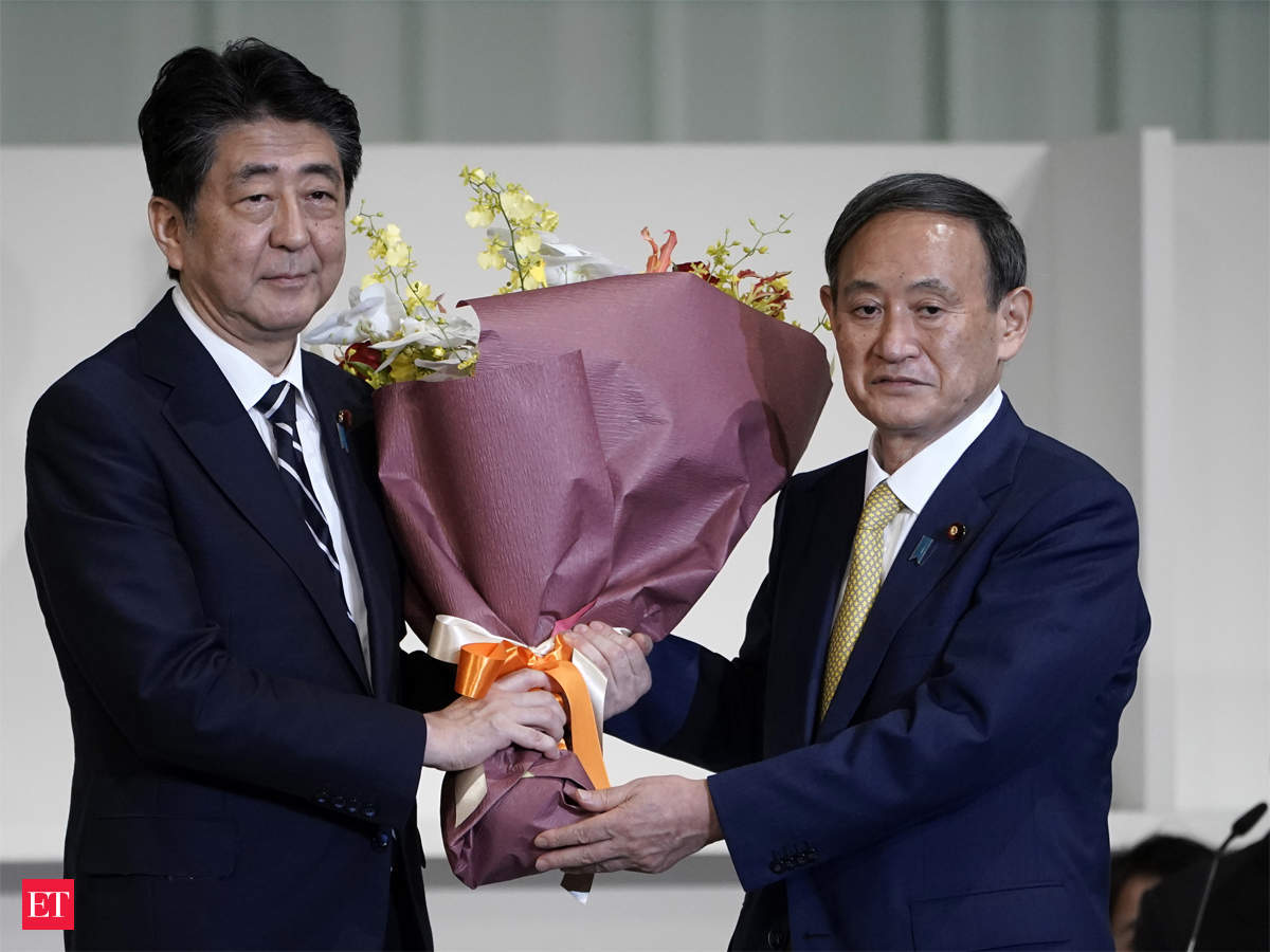 Shinzo Abe: Japan's PM Shinzo Abe resigns, clearing way for successor - The  Economic Times