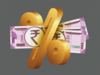 Negative real interest rates to help
