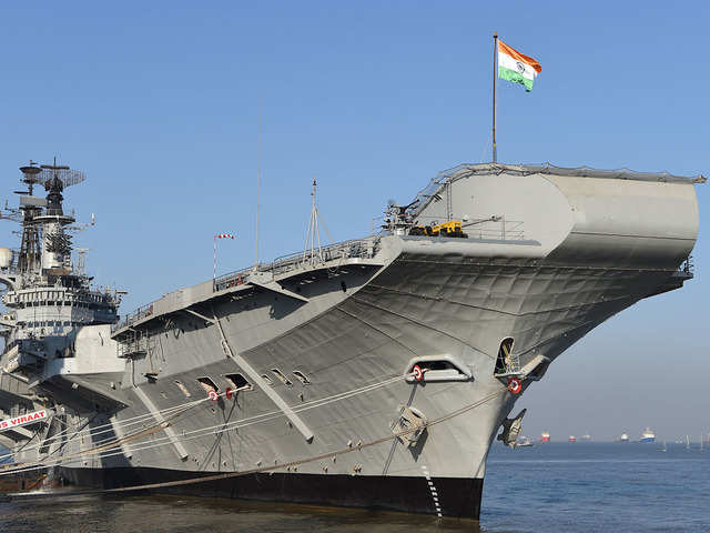 Decommissioned Indian Navy aircraft carrier 'Viraat' to start last journey on Saturday