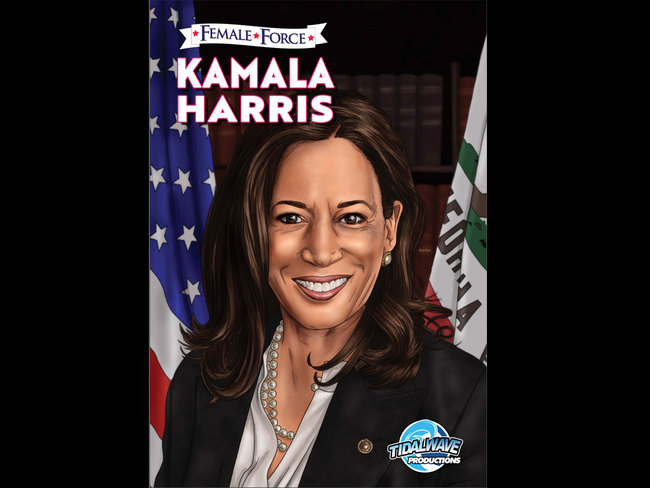 Kamala Harris featured in new comic book as her birthday gift
