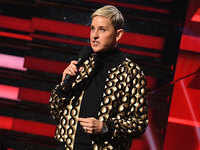 Ellen DeGeneres opens 18th season of her show with an apology over toxic workplace allegations